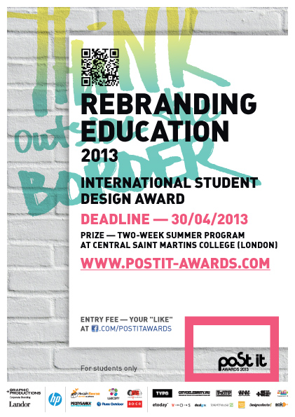 Post It Awards Poster Competition 2013